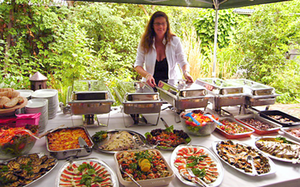 catering till möhippa Restaurang SMAK Lunch & Catering
